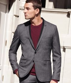 Awesome detailing on lapels | H US