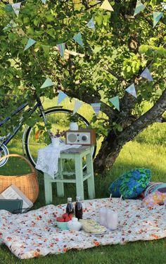Vintage picnic | 10 Dreamy Picnic Set Ups - Tinyme Blog