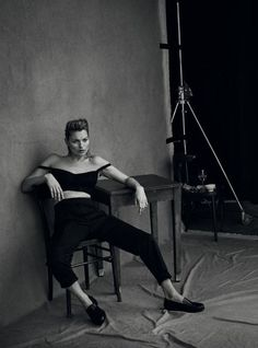 by Peter Lindbergh for Vogue Italia January 2015