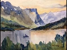 ▶ Paint Along with Larry Hamilton - July 20, 2014 - Watercolor - Goose Island - YouTube