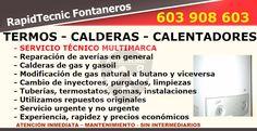 Reparación Calderas, Termos y Calentadores Valdevimbre