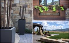 Ore Inc. annual planters, YARD COUTURE Outdoor Living, Outdoor Decor, Park City, Sustainability, Recycling, Planters, Yard, Patio, Couture