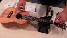 How to string a ukulele compliments of Hawaii Music Supply - shared by Ukulele Mike Lynch www.ukulelemikelynch.com www.allthingsukulele.com mike@ukulelemikelynch.com
