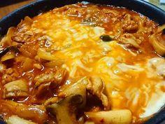 フライパン1つの簡単チーズタッカルビの画像
