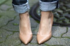 nude heels: must have for spring!
