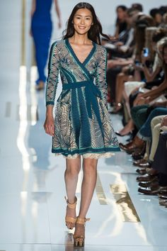 Dvf Spring 2014 Long Maxi Wrap Dress Diane von Furstenberg Spring