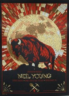 Neil Young ~ November 2012 ~ electric evening with both new and old music