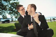 Real Gay Weddings: David and Colin | Equally Wed - A gay and lesbian wedding magazine.