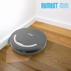 Stop wasting time and making unnecessary efforts to clean the floor! The amazing Rumbot Mini robot vacuum cleaner is here to help you! http://www.justgoodle.com/en/5424-rumbot-mini-robot-vacuum-cleaner.html