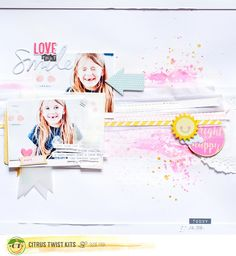 Citrus Twist Kits: Sunday Sketch July 17, 2016 with Suse Fish