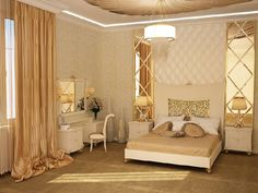 http://www.drissimm.com/wp-content/uploads/2014/12/stunning-mirror-decoration-on-the-wall-beside-bed-as-well-elegant-bed-idea-as-well-fancy-chandelier-and-brown-curtain-window-also-brown-carpet-covering-floor-and-small-dresser.jpg