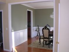 wainscoting in dining room - Google Search