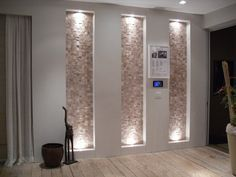 It'd be cool to do water feature wall in bedroom or relaxation room