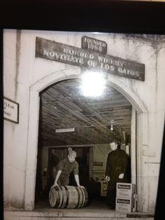 The Historic Novitiate winery in Los Gatos, CA 1888 by Jesuit Fathers & Brothers of Santa Clara. Now DBA Testarossa Winery.