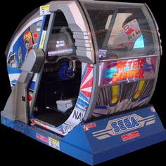 """After Burner Arcade Machine - This was my first """"immersive"""" gaming experience. The cabinet rotated 4 different ways and shook when you were hit. I want it because it helps you handle pressure."""