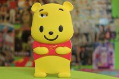 jewels winnie the pooh phone case disney - really cute(: