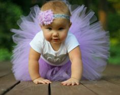 Primer cumpleaños Tutu... Traje de cumpleaños de bebé niña...