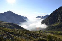 Nebbia. Italia.Vercelli.Alagna Valsesia.Bocchetta delle Pisse 2400 mslm. #italia #vercelli #alagna #alagnavalsesia #bocchettadellepisse #fog #green #quiete
