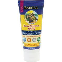 All-Natural Sunscreen Cream - SPF30 Lavender