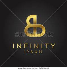Elegant minimal letter symbol. Alphabet design. Vector illustration.