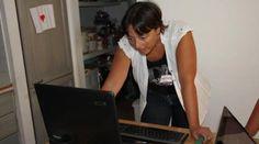 Martina Spinaci al lavoro (Foto Officina Nuova)