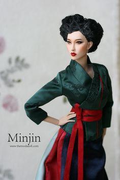 """https://flic.kr/p/Dd3c4R   New doll""""Minjin""""   www.themodsdoll.com"""