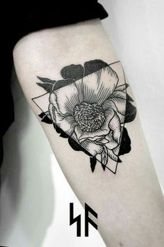 Geometric and floral