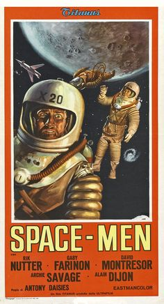 Movie Poster - Space Men