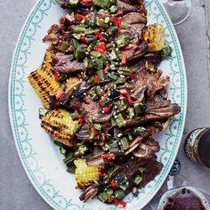 Kalbi Ribs and Grilled Corn with Kalbi Butter | Food & Wine