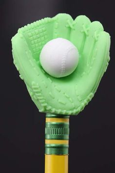 Green Baseball Mitt Eraser Series Two