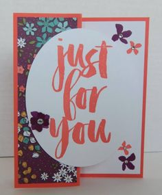 Stampin' Up BOTANICALS FOR YOU from the Sale-A-Bration Catalog 2016 - Katina Martinez
