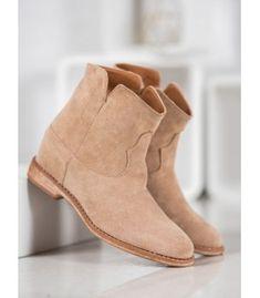 Semišové kovbojky Wedges, Boots, Fashion, Crotch Boots, Moda, La Mode, Heeled Boots, Wedge, Shoe Boot