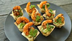Make and share this Cajun Guacamole Shrimp Cups recipe from Genius Kitchen.