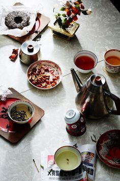 """Tea is serious business in China, where you're more likely to be served tea than plain water. Here, however,the democratization of the drink has done nothing to diminish its value: You can buy a cup of everyday tea for a few pennies, or, if you're a true connoisseur, one of Da Hong Pao, an oolong tea that can command up to $35,000 per ounce and is considered among the finest in the world. """"China remains the largest tea producer on earth,"""" says Stewart. """"The offerings there are terrifically…"""