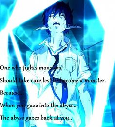 "Blue Exorcist ""Monster."""