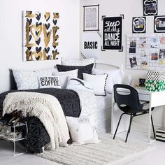 Small bedroom, dorm or studio-apartment decor idea. Are you looking for unique and beautiful art photo prints to curate your gallery walls? Visit bx3foto.etsy.com and follow us on Instagram @bx3foto