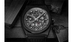 Defy Classic Black - Designed to conflict with the overtly traditional aspects of watch design, the Defy Classic Black Ceramic is a new timepiece from Zenith that embra. Lux Watches, Watches For Men, Wooden Watch, Classic Collection, Ceramics, Accessories, Geneva, Luxury, Luxury Watches