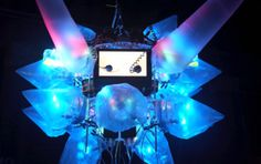 An installation at the first Glow in 2008