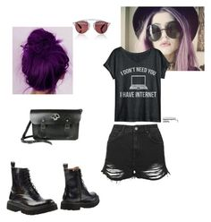 """Lazy day today ^-^"" by teganself on Polyvore featuring Christian Dior, Topshop and Jeffrey Campbell"
