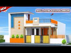 House Front Wall Design, House Balcony Design, House Outer Design, Single Floor House Design, Modern Small House Design, House Outside Design, Modern Exterior House Designs, Village House Design, Duplex House Design