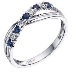 This might be my wedding ring. It will match my engagement ring perfectly and isn't ridiculously expensive so I don't feel like I have to really look after it. Just have to see if it will fit around my engagement ring. I found another I really liked for £60 but Lliam wants me to have more sparkles.
