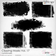 Clipping Masks Vol. 17