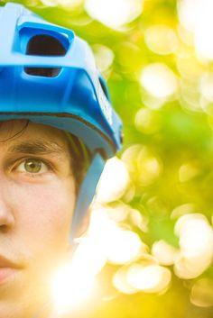 Portrait, Mountainbiking, Sunset, Sports