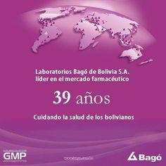 Laboratorios Bagó de Bolivia S.A. Ética al servicio de la salud. 1976 - 2015 ¡Gracias por confiar en nosotros!  http://www.bago.com.bo/ #SaludyBienestarBagó