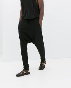 Image 3 of BAGGY TROUSERS from Zara