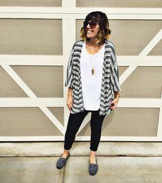 """123 Likes, 16 Comments - Keri Bender (@lularoe.keri.bender) on Instagram: """"These are some of my classic @LulaRoe faves- solid leggings, classic tee and a Lindsay kimono.…"""""""