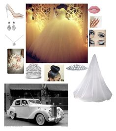 """EvEING WEDDIND"" by imayababy ❤ liked on Polyvore featuring Christian Louboutin, Tiffany & Co., Kobelli, Lime Crime, Bling Jewelry and Columbia"