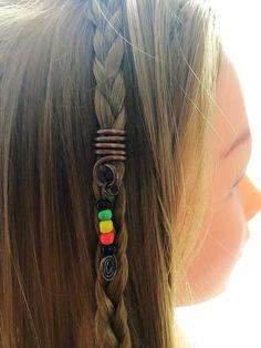 New Fair Trade Long Hair band wrap-Hippy Ethnic rasta dreads Surf Tie Dye