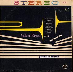 vintage album cover Velvet Brass
