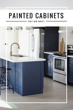 Should I Paint My Cabinets? Whether it is a good idea or not